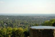 View towards Reigate from Reigate Hill, Reigate, Reigate