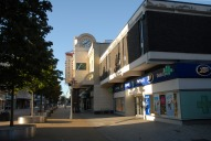 Entrance to The Belfry shopping centre, Redhill