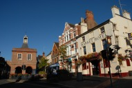 Old Town Hall and Market Hotel, Reigate