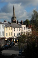 South Street and St Martin's church spire, Dorking