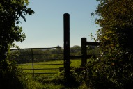 Stile, near Crabtree Lane, Dorking