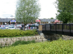 Riverside shops Staines